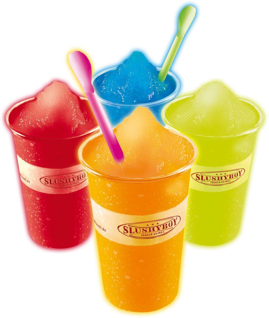 Slush Eis Geschmacksrichtungen